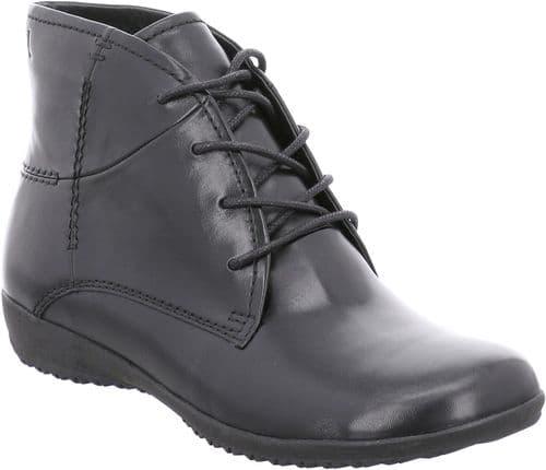 Josef Seibel Naly 09 Ladies Ankle Boots Black